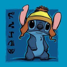 Disney Pixar, Thing 1, Illustrations, Lilo And Stitch, Disney Stitch, Blue Art, Disney Love, Note Cards, Original Art