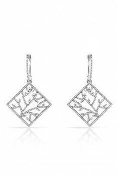 1.4 CTW Diamond Gold Earrings - Enviius