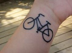 The girl with the bicycle tattoo?  Small tattoo ideas