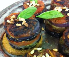 Roasted Eggplant and Spicy Italian Qrunch Burger Stacks : The Humane Society of the United States