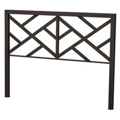 This Amisco Windmill Metal Headboard features an open, geometric pattern that allows your wall color to peek through. Its urban design is customized. Furniture Deals, Coastal Furniture, Shabby Chic Furniture, Bedroom Furniture, Full Headboard, White Headboard, Headboard Ideas, Geometric Furniture, Sofa Layout