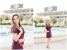 Texas A&M senior graduation pictures Reilly Lynn Photography Nursing Schools In Houston, Lpn Schools, Top Nursing Schools, Nursing Career, Graduation Picture Poses, Grad Pics, Graduation Pictures, Fall Senior Photography, School Photography