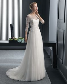 Ralph vestido de novia two Rosa Clara