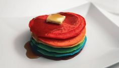 Happy Pride day :) I celebrated with a stack of rainbow pancakes [OC] [1140x660]