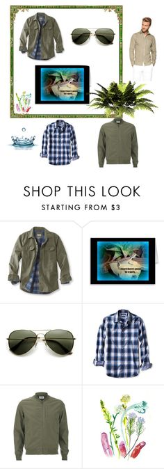 Casual Living By Fit4you On Polyvore Featuring L Bean Banana Republic Men S
