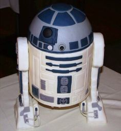 This was an R2D2 cake made for a family member's...