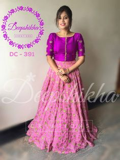 Deepshikha Creations. <br> Contact : 090596 83293. <br> Email : deepshikhacreations@gmail.com.