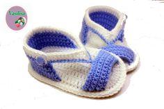 DIY baby booties crochet