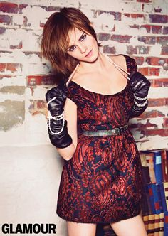 Emma Watson in October 2012 Glamour
