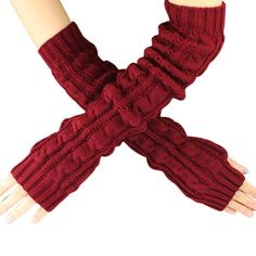 KOOZIMO Womens Fashion Touch Screen Winter Outdoor Sport Warm Gloves (Red) -- Awesome products selected by Anna Churchill