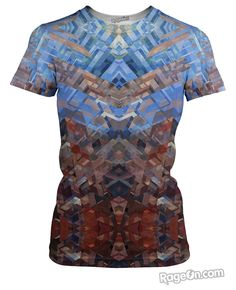 Facet T-Shirt – RageOn! - The World's Largest All-Over-Print Online Store