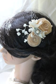 vintage flourishes fascinator