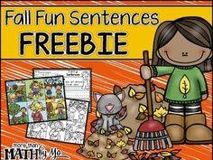 Fall Fun Sentences FREEBIE