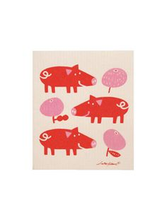 Pig & Apple by Lotta Glave