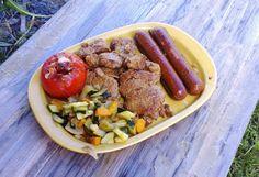"""Ituhippielämää -blogin vinkit """"Mitä vegaani voi grillata - kuvapostaus"""" Sausage, Meat, Sausages, Chinese Sausage"""