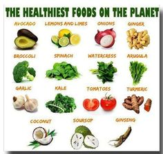 some of the healthiest foods on the planet #plantbased diet