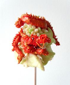 Chinese Dragon cake pop by Kiss And Bake Up, via Flickr