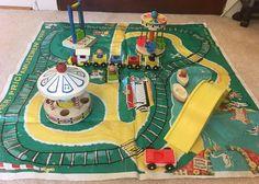 Vintage Fisher Price Little People Amusement Park # 932 Complete - Nice  | eBay
