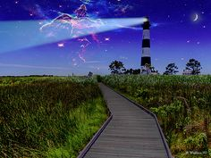 """""""The #BodieIsland #Lighthouse Incident"""" by Brian Wallace (@starg82343 on Pinterest) #LookTowardstheSky"""