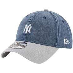 Men s New York Yankees New Era Navy Rugged 9TWENTY Adjustable Hat 7899b945df1