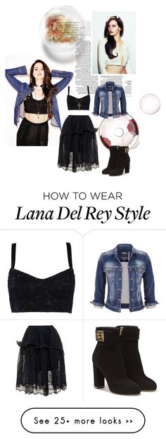 """The fashionable art of Lana ♡"" by dreamer4ever on Polyvore featuring maurices, Dolce&Gabbana, Simone Rocha and Salvatore Ferragamo"