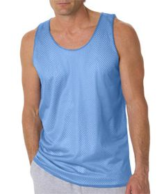 f5268d7ef Badger B8529-Adult Mesh Reversible Poly Tank