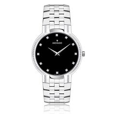Movado Faceto™ Men's Watch - My fiance has a thing for watches. This would make a beautiful gift for him.