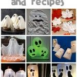 Tons of Ghost Crafts & Recipes. I want to make them all!