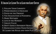 Continuing the Einstein theme.