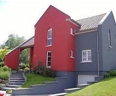Fassadenfarbe dunkelgrau  fassadenfarbe gesucht - dunkelbraun | bauforum auf energiesparhaus ...
