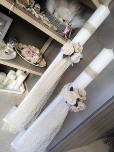 Λαμπαδες γαμου Weeding, Purple Wedding, Event Decor, Wedding Planning, Candles, Boho, Columns, Wedding, Grass