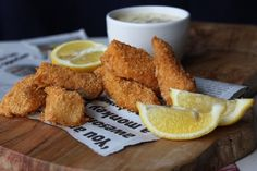 Almond Crusted Fish Sticks and Tartar Sauce - Paleo and low carb - I have been craving fish sticks, this is great!