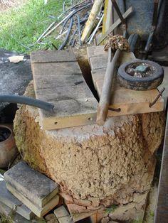 rustic oven for ceramic. Pousada Vira Morro. Monteiro Lobato, São Paulo-Brazil