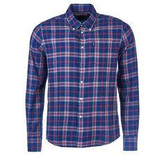 Barbour Seth Lightweight Plaid Cotton Button Down Shirt
