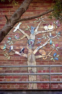 "Tree of Life"" public art project   Ursula Dutkiewicz"