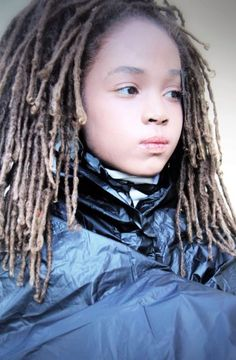 This babies hair most deff keeps me motivated to continue to let my hair grow :: #dreadstop