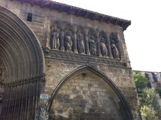 Iglesia del Santo Sepulcro. Estella, Navarra. España. Camino francés. #caminodesantiago