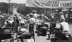 Soap Box Derby in Lynchburg, Virginia - July 1956