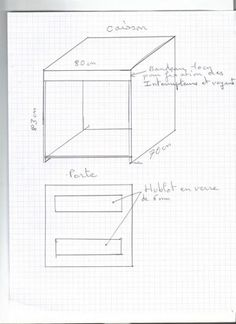 ma couveuse faite maison Floor Plans, Home Made, Floor Plan Drawing, House Floor Plans