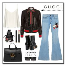 """""""Gucci!"""" by diane1234 ❤ liked on Polyvore featuring Gucci and Raey"""