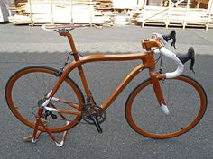 Classy Wooden Two-Wheelers : OKES lifestyle bike