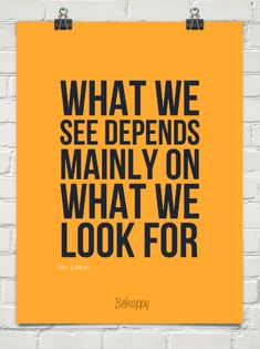 Yep! If you look with loving eyes, you see only goodness and love. If you look with eyes of condemnation, your vision is jaded and you can't possibly see anything good.