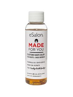 Hair (home color—single process): Everything about eSalon is blessedly easy