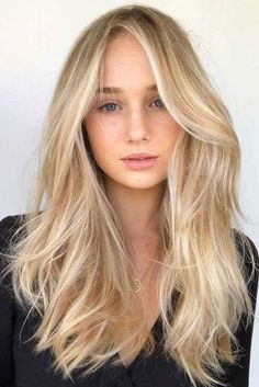 Warm Blonde Hair Shades Perfect for Brightening Your Locks This Spring - Blonde hair color - Blonde Hair Shades, Blonde Hair Looks, Light Blonde Hair, Baby Blonde Hair, Light Blonde Balayage, Blonde Hair Color Natural, Blonde Long Hair, Neutral Blonde Hair, Butter Blonde Hair