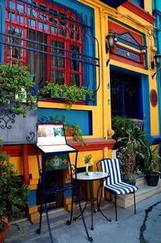 Restaurant in Istanbul, Turkey°°