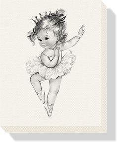Vintage-Princess-Ballerina-Canvas-CBkqq.jpg (1500×1827)