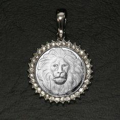 Great Spirit Lion of Kuramongo Village Medallion by GoodSpiritWolf