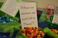 Volunteer Appreciation Dessert Bar...