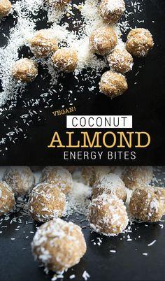 I've always loved miniature stuff. Coconut Recipes, Raw Food Recipes, Snack Recipes, Cooking Recipes, Vegan Treats, Vegan Snacks, Vegan Desserts, Healthy Sweets, Healthy Snacks