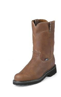 375514807be 50 Best Justin Workboots - Men images in 2018   Cowboy boots, Man ...